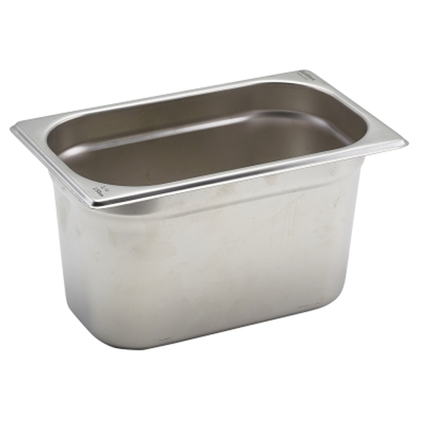 Gastronorm Container Stainless Steel 1//4 pan 150mm deep